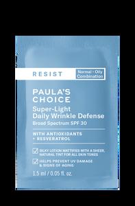 Resist Anti-Aging Super-Light Daily Wrinkle Defense SPF 30 Sample