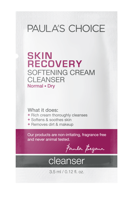 Skin Recovery Softening Cream Cleanser Sample