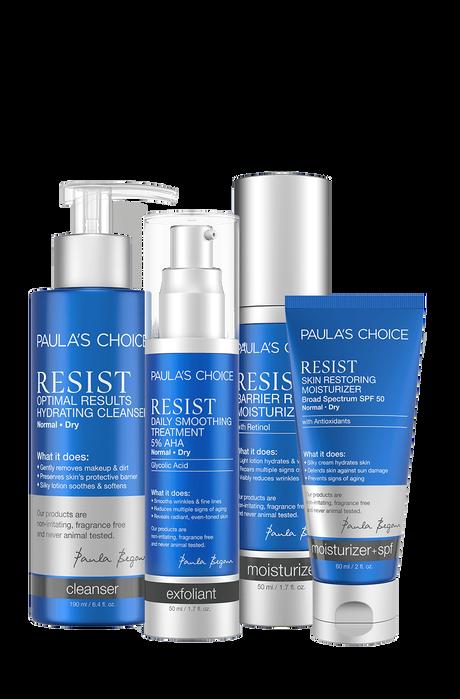 Resist Anti-Aging Set Normal to Dry skin