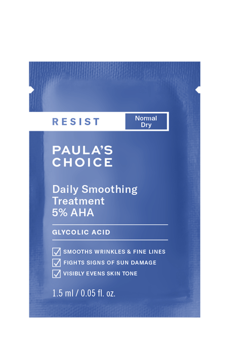 Resist Anti-Aging Daily Smoothing Treatment AHA Sample