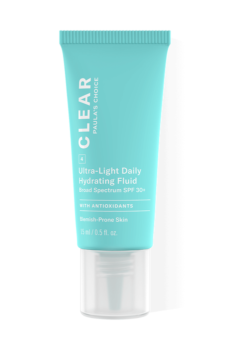 Clear Ultra-Light Daily Hydrating Fluid SPF 30 Trial Size
