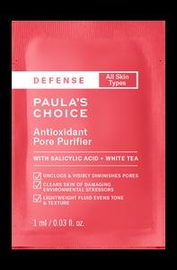 Defense Antioxidant Pore Purifier Sample