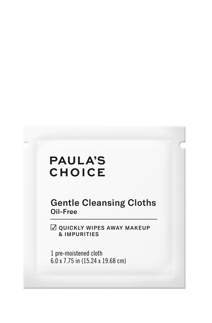 Gentle Cleansing Cloths Sample