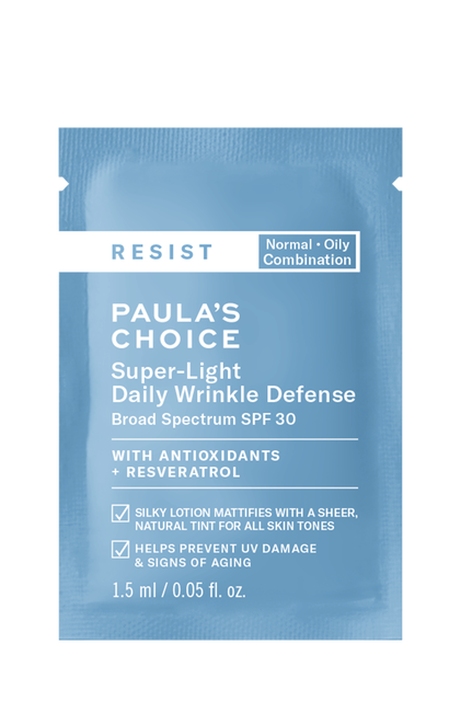 Resist Anti-Aging Super-Light Daily Wrinkle Defense SPF 30 Sample
