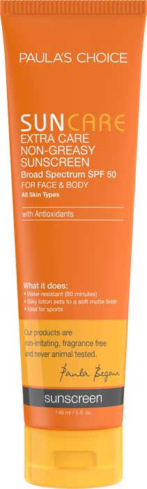 Sun Care Extra Care Non-Greasy Sunscreen Broad Spectrum SPF 50 Full size