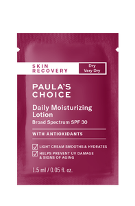 Skin Recovery Daily Moisturizing Lotion Broad Spectrum SPF 30 Sample