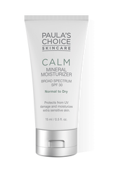 Calm Mineral Moisturizer Broad Spectrum SPF 30 normal to dry skin
