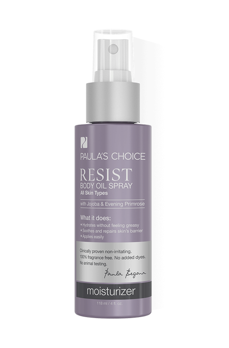 Resist Anti-Aging Body Oil Spray