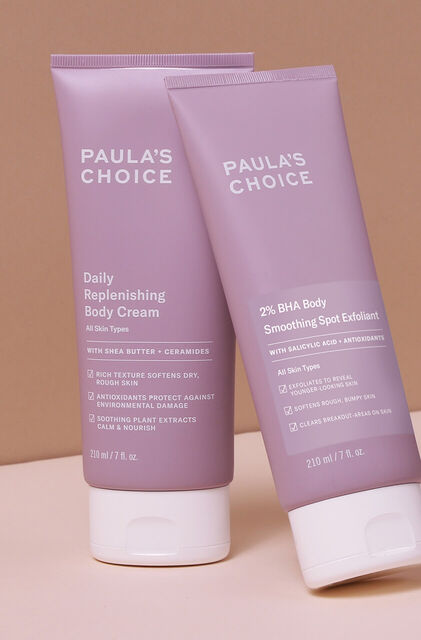 Power Duo Reduce breakouts + Hydrate body