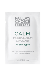 Calm 1 procent BHA Lotion Exfoliant Sample
