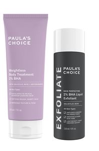 Powerduo verminder puistjes + een gladde huid op gezicht en lichaam