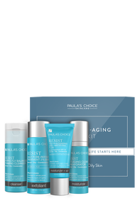 Resist Anti-Aging Combination to Oily skin Trialkit